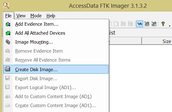 Create Disk